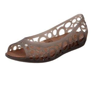 Crocs  Size 11 women's adrina jellies new!!!
